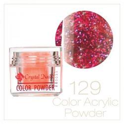 CRYSTAL NAILS - Praf acrylic colorat - 129 - 7g