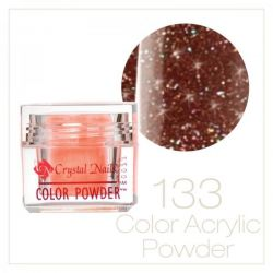 CRYSTAL NAILS - Praf acrylic colorat - 133 - 7g