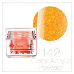 CRYSTAL NAILS - Praf acrylic colorat - 142 - 7g