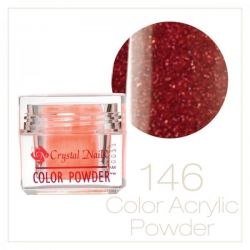 CRYSTAL NAILS - Praf acrylic colorat - 146 - 7g