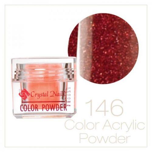 CRYSTAL NAILS - Praf acrylic colorat - 146 - 7g