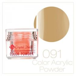 CRYSTAL NAILS - Praf acrylic colorat - 91 - 7g
