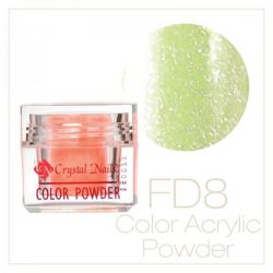CRYSTAL NAILS - Praf acrylic Full Diamond - FD8 - 7g