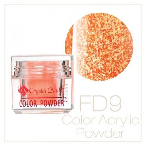 CRYSTAL NAILS - Praf acrylic Full Diamond Neon - FD9 - 7g