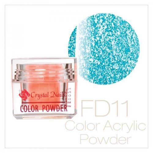 CRYSTAL NAILS - Praf acrylic Full Diamond Neon - FD11 - 7g