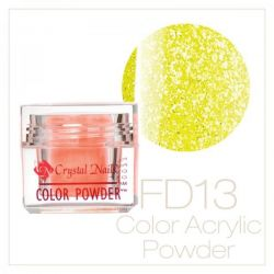 CRYSTAL NAILS - Praf acrylic Full Diamond Neon - FD13 - 7g