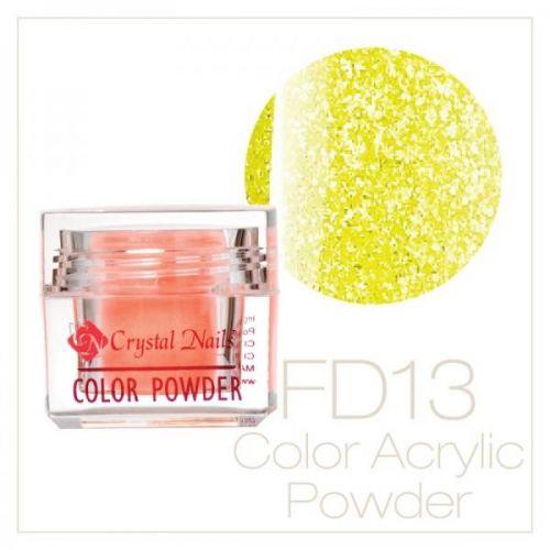 CRYSTAL NAILS - Praf acrylic Full Diamond Neon - FD13 - 7g