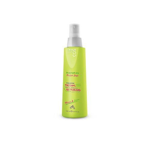 BBCOS Keratin Perfect Style - Thermal Repairing - Spray de protectie pentru placa cu Keratina hidolizata (150ml)