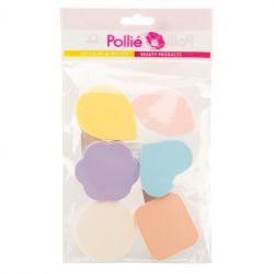 ES - Burete cosmetic Fantasie Colours 2674 (6/set)