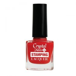 Crystal Nails - Lac pentru Stampila - Rosu (4ml)
