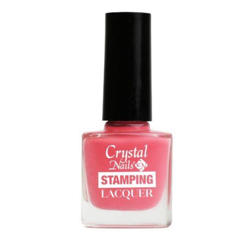 Crystal Nails - Lac pentru Stampila - Roz (4ml)