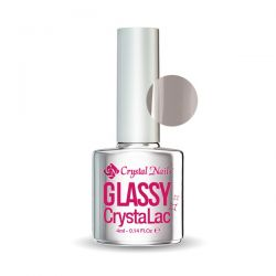 Crystal Nails - Glassy CrystaLac - Negru (4ml)