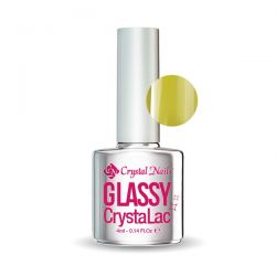 Crystal Nails - Glassy CrystaLac - Galben (4ml)