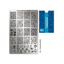 Moyra - Stamping Plate - Matrita pentru Stampila - 18