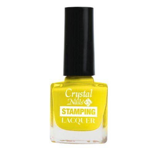 Crystal Nails - Lac pentru Stampila - Galben (4ml)