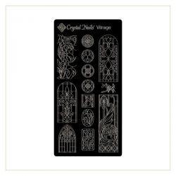 Crystal Nails - Matrita pentru Stampila - Vitrage