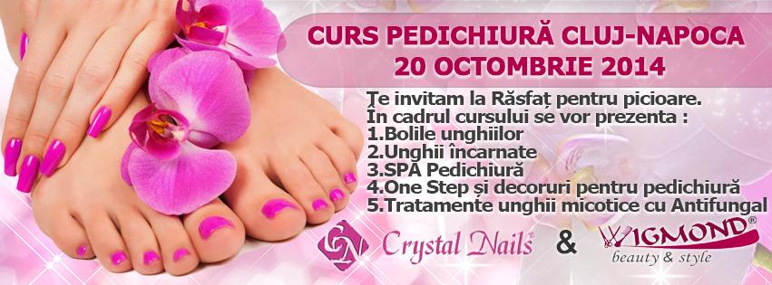 2 in 1 Curs Pedichiura Cluj-Napoca