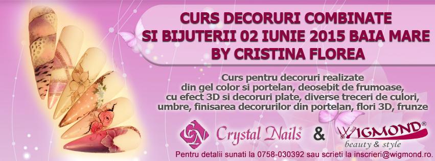 Curs Decoruri Combinate si Bijuterii 02 iunie 2015 by Cristina Florea
