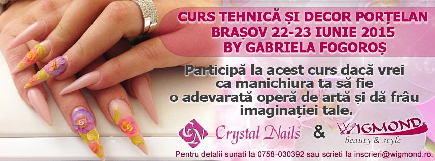 Curs Tehnica si Decor Portelan Brasov 22-23 iunie 2015 by Gabriela Fogoros