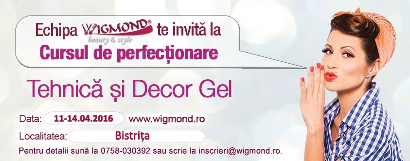 Curs de Perfectionare - Tehnica si Decor Gel