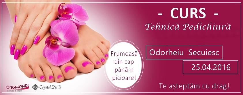 curs pedichiura Odorheiu Secuiesc
