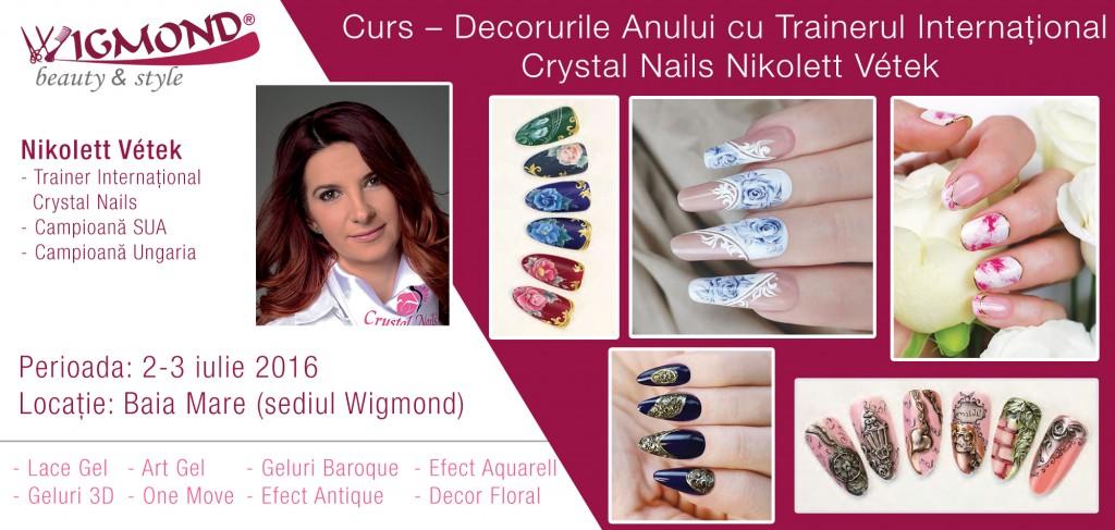 Curs – Decorurile Anului cu Trainerul Internațional Crystal Nails Nikolett Vetek_2