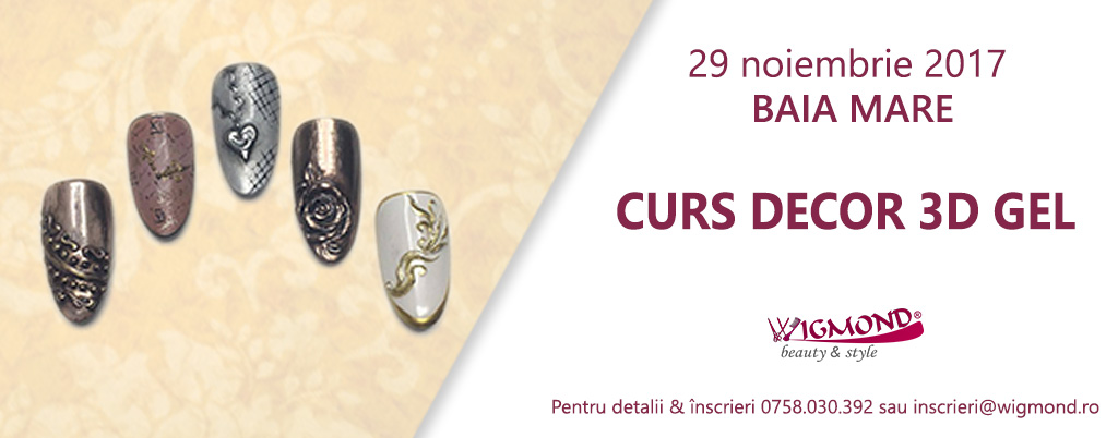 CURS DECOR 3D