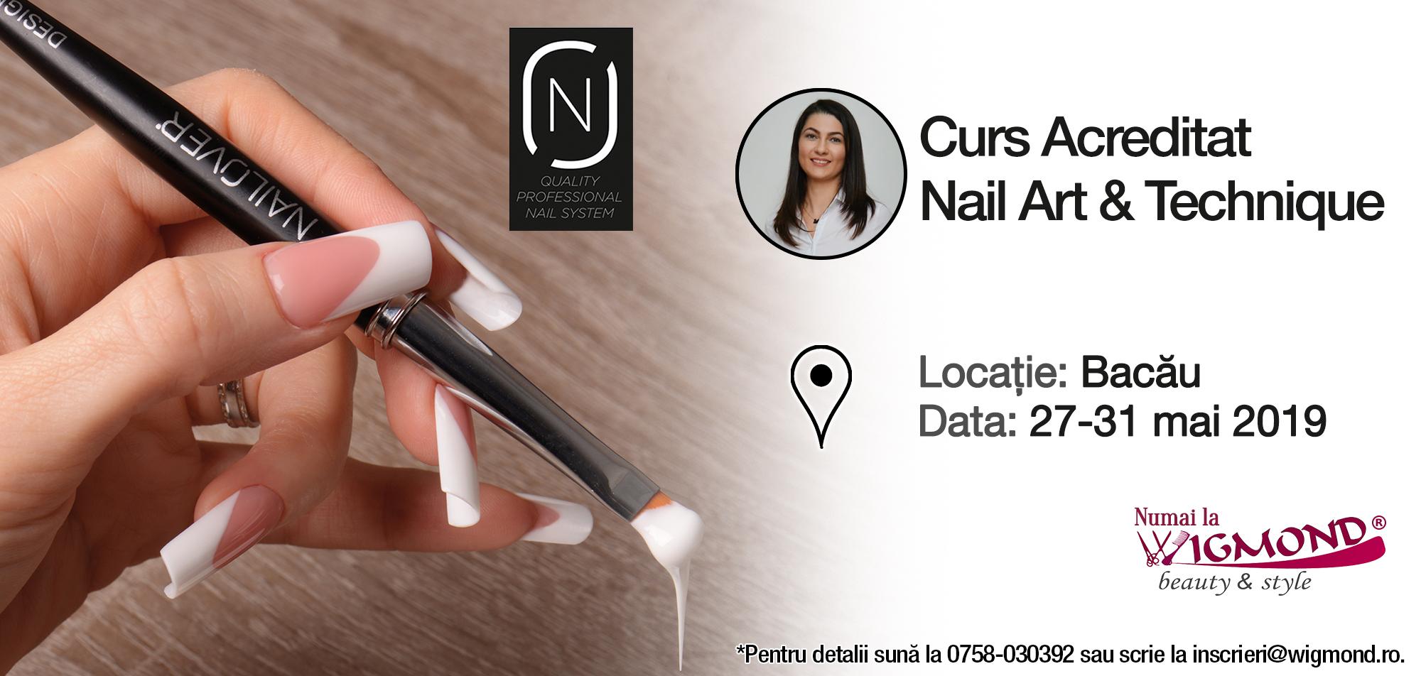 Cursul acreditat nail art Nailover 27-31 mai 2019