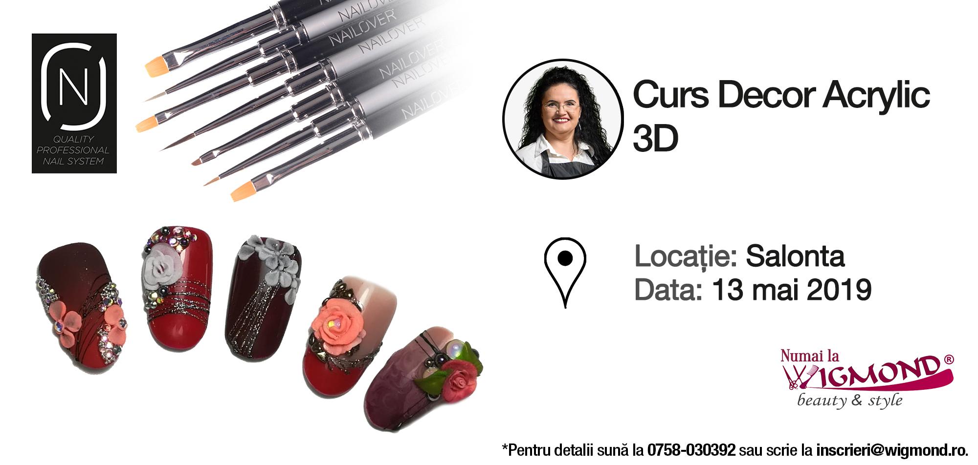 Cursul decor Acrylic 3D 13 mai 2019 - Salonta