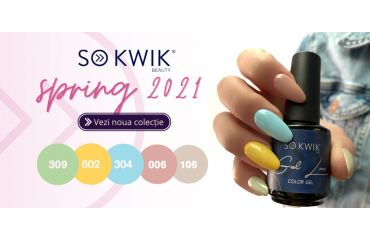NEW COLLECTION – Spring 2021 – SOKWIK Gel Lac