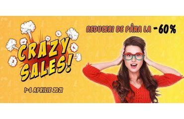 Crazy Days – Reduceri de pana la 60%