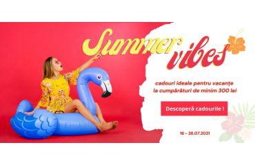 Cadouri la cumpărături la Wigmond in iulie 2021
